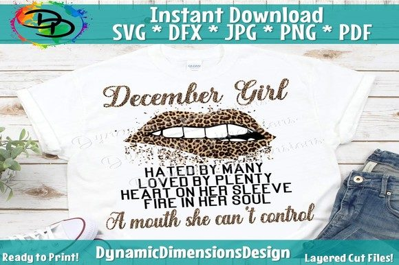 Print on Demand: December Girl Graphic Crafts By dynamicdimensions