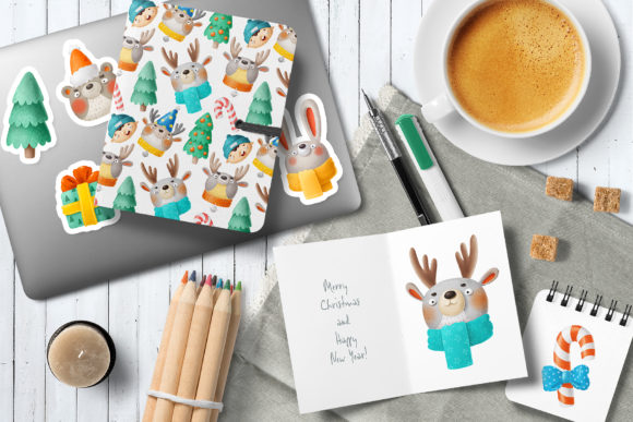 Print on Demand: Christmas Set Graphic Illustrations By Architekt_AT - Image 2
