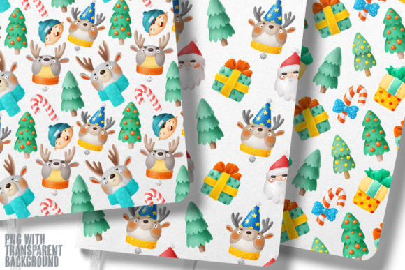 Print on Demand: Christmas Set Graphic Illustrations By Architekt_AT - Image 4