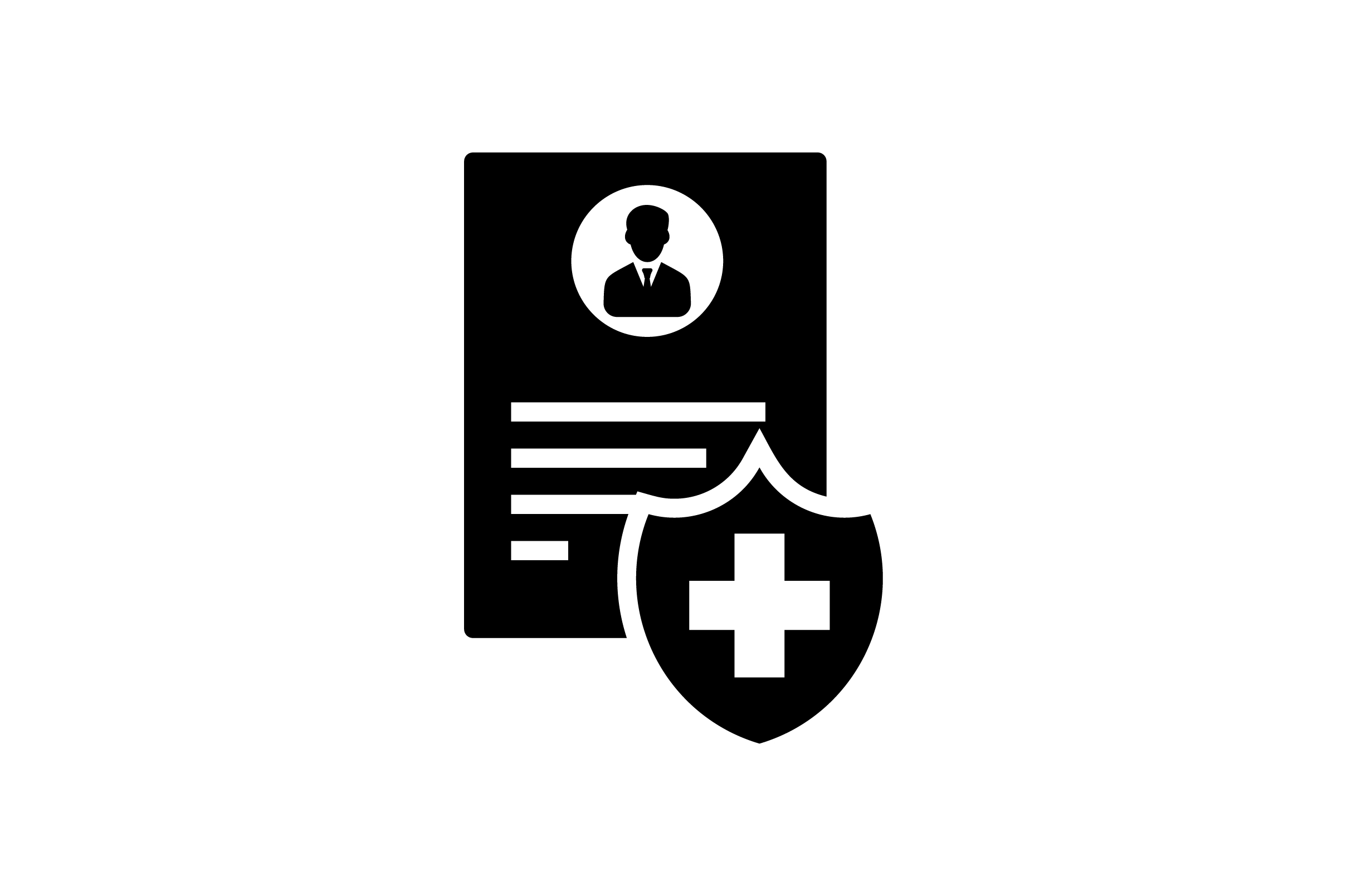 Download Free Medical Document Glyph Vector Icon Graphic By Riduwan Molla for Cricut Explore, Silhouette and other cutting machines.