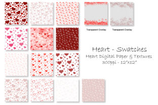 Valentine's Day Hearts - Heart Patterns Graphic Patterns By GJSArt 2
