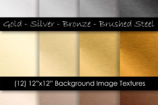 Brushed Steel Textures - Metal Texture Graphic Textures By GJSArt