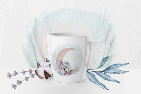 Print on Demand: Winter Flowers, Animals, Birds Forest Graphic Illustrations By PawStudio - Image 8