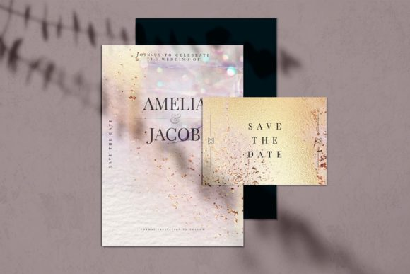 Print on Demand: Gold Watercolor & Oil Paint Collections Graphic Textures By Creative Paper - Image 11