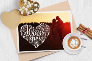 I Love You Vector Valentine Quote Graphic Objects By Happy Letters 3