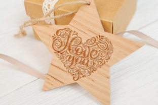 I Love You Vector Valentine Quote Graphic Objects By Happy Letters 4