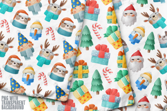 Print on Demand: Christmas Set Graphic Illustrations By Architekt_AT - Image 5