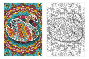 Coloring Pages - Birds Graphic Coloring Pages & Books Adults By Peliken 3
