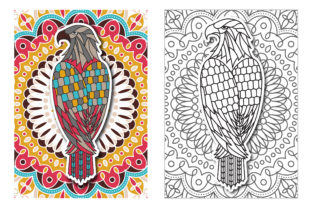 Coloring Pages - Birds Graphic Coloring Pages & Books Adults By Peliken 4