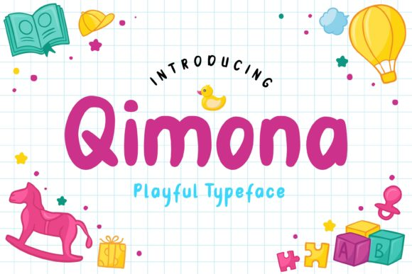 Print on Demand: Qimona Display Font By Fype Co.