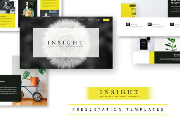 Insight - PowerPoint Template Graphic Presentation Templates By mardanimirza12