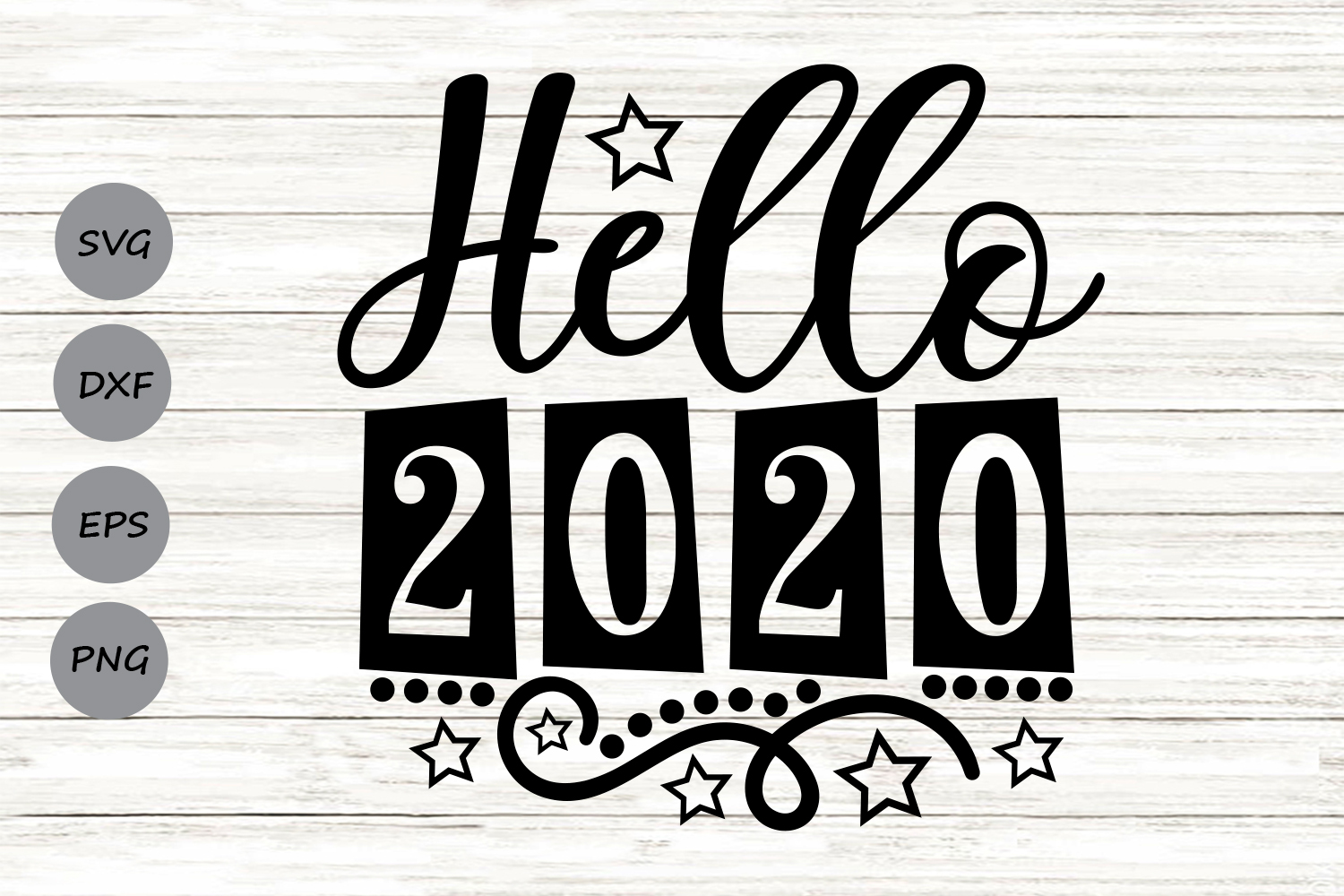 Download Free Hello 2020 Grafik Von Cosmosfineart Creative Fabrica for Cricut Explore, Silhouette and other cutting machines.
