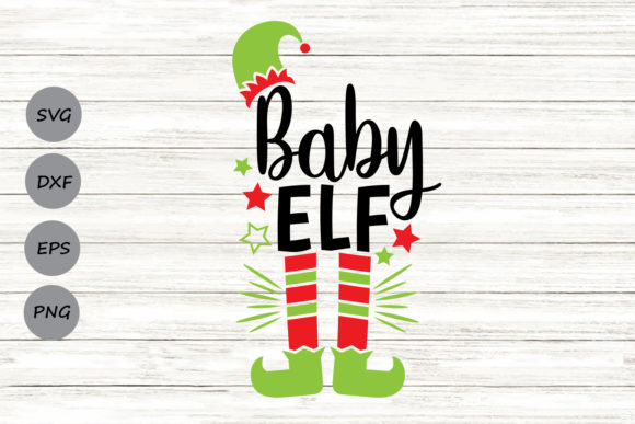 Print on Demand: Baby Elf Graphic Crafts By CosmosFineArt