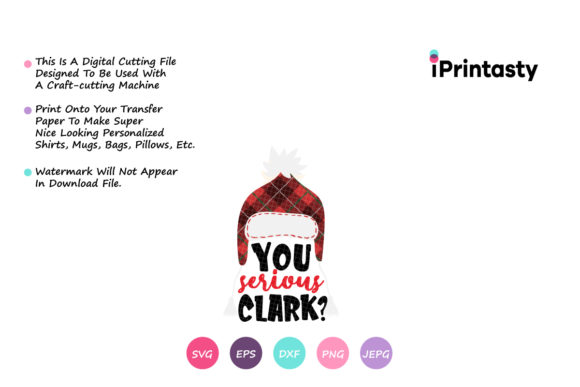 Print on Demand: You Serious Clark Graphic Crafts By iprintasty - Image 2