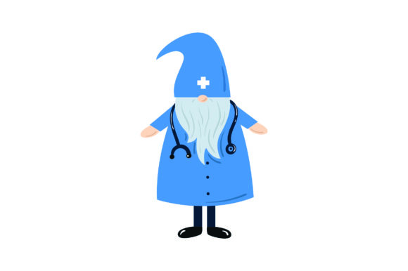 Download Free Gnome Doctor Svg Cut File By Creative Fabrica Crafts Creative for Cricut Explore, Silhouette and other cutting machines.