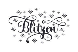 Blitzen Christmas Craft Cut File By Creative Fabrica Crafts