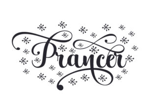 Prancer Christmas Craft Cut File By Creative Fabrica Crafts