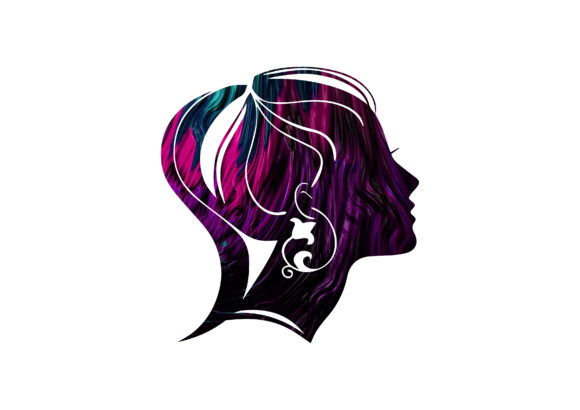 Abstract Photo with Silhouette Woman Graphic Photos By dedekalianak06