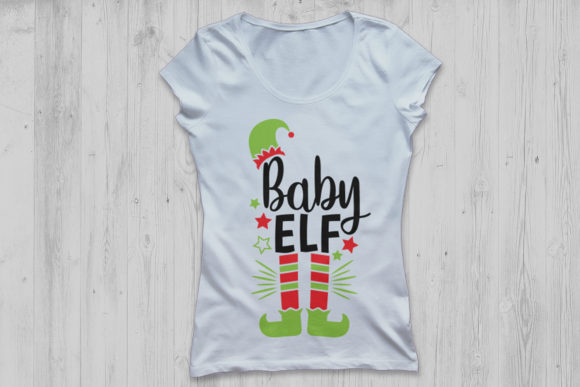 Download Free Baby Elf Graphic By Cosmosfineart Creative Fabrica for Cricut Explore, Silhouette and other cutting machines.