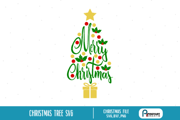 Download Free Merry Christmas Graphic By Pinoyartkreatib Creative Fabrica for Cricut Explore, Silhouette and other cutting machines.