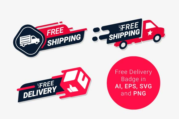 Download Free Free Delivery Service Logo Graphic By Freshcare Creative Fabrica for Cricut Explore, Silhouette and other cutting machines.