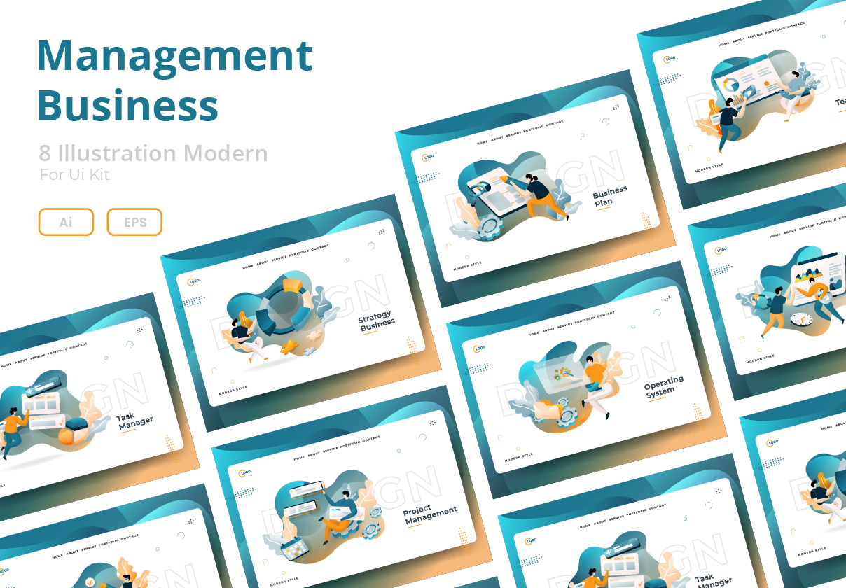 Download Free Management Business Grafik Von Twiri Creative Fabrica for Cricut Explore, Silhouette and other cutting machines.
