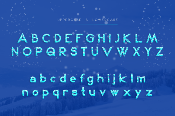 Print on Demand: Winter Kei Display Font By arukidz.fl - Image 2
