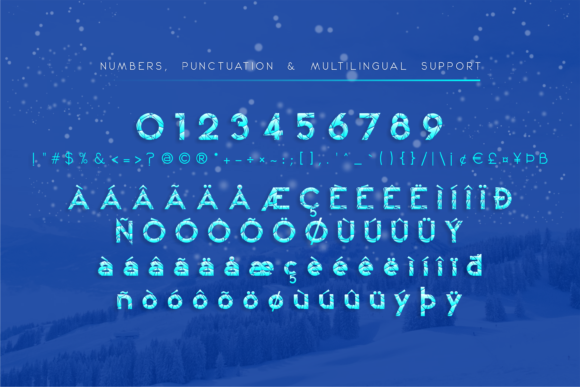 Print on Demand: Winter Kei Display Font By arukidz.fl - Image 3
