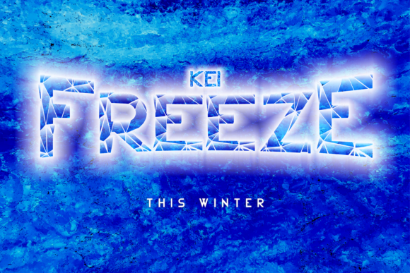 Print on Demand: Winter Kei Display Font By arukidz.fl - Image 5