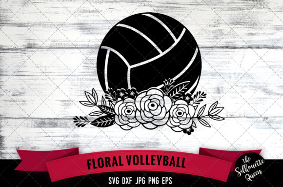 Download Floral Volleyball