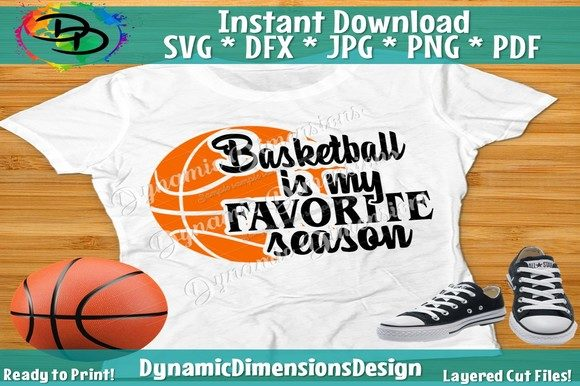 Print on Demand: Basketball is Favorite Season Graphic Crafts By dynamicdimensions