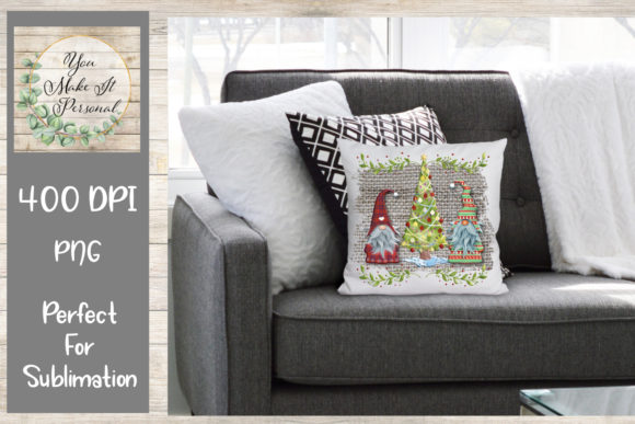 Print on Demand: Holiday Gnome Design Graphic Print Templates By You Make It Personal - Image 2