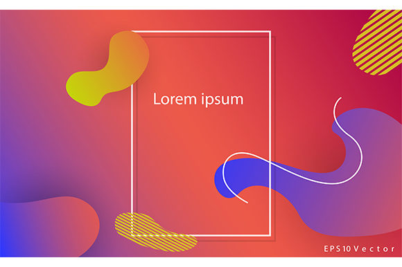 Download Free Modern Background Vector Template Graphic By Rohmar Creative for Cricut Explore, Silhouette and other cutting machines.