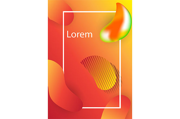 Modern Background Vector Template Graphic Backgrounds By rohmar