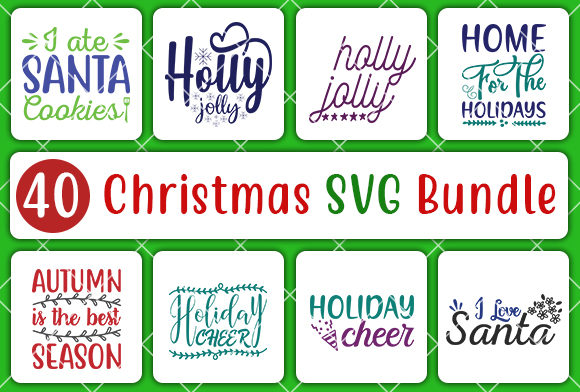 Print on Demand: Christmas Bundle Graphic Crafts By CreativeArt - Image 3