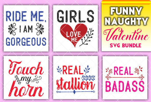 Print on Demand: Funny and Naughty Valentine Graphic Crafts By CreativeArt