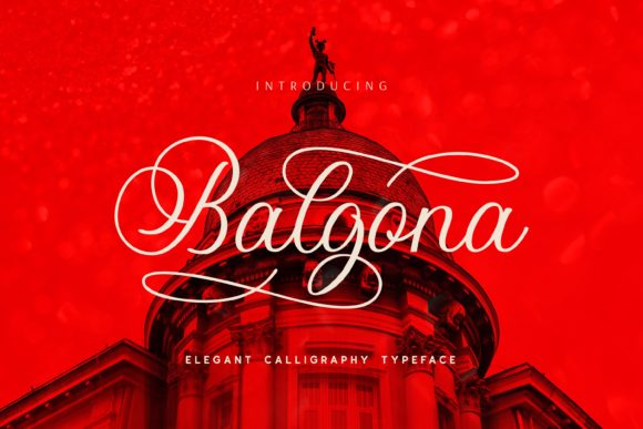 Print on Demand: Balgona Display Font By Fype Co.