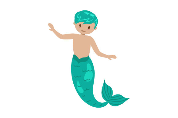 Download Free Child Merman Svg Cut File By Creative Fabrica Crafts Creative for Cricut Explore, Silhouette and other cutting machines.