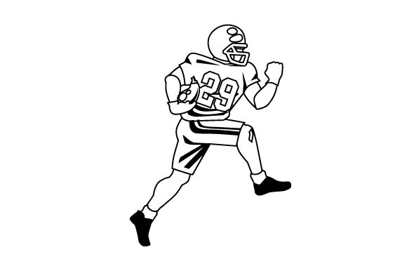 Download Free Vegan Football Player Svg Cut File By Creative Fabrica Crafts for Cricut Explore, Silhouette and other cutting machines.