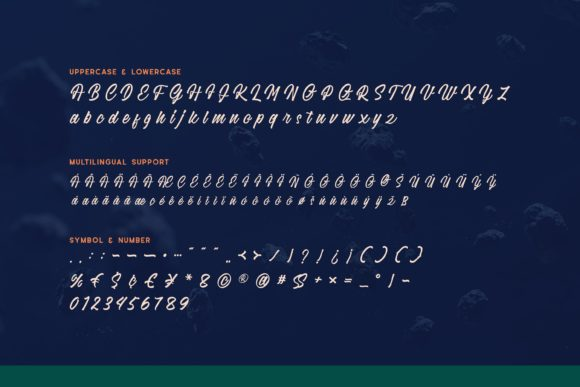 Print on Demand: Justoma Display Font By Fype Co. - Image 6