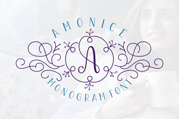Print on Demand: Amonice Display Schriftarten von Situjuh