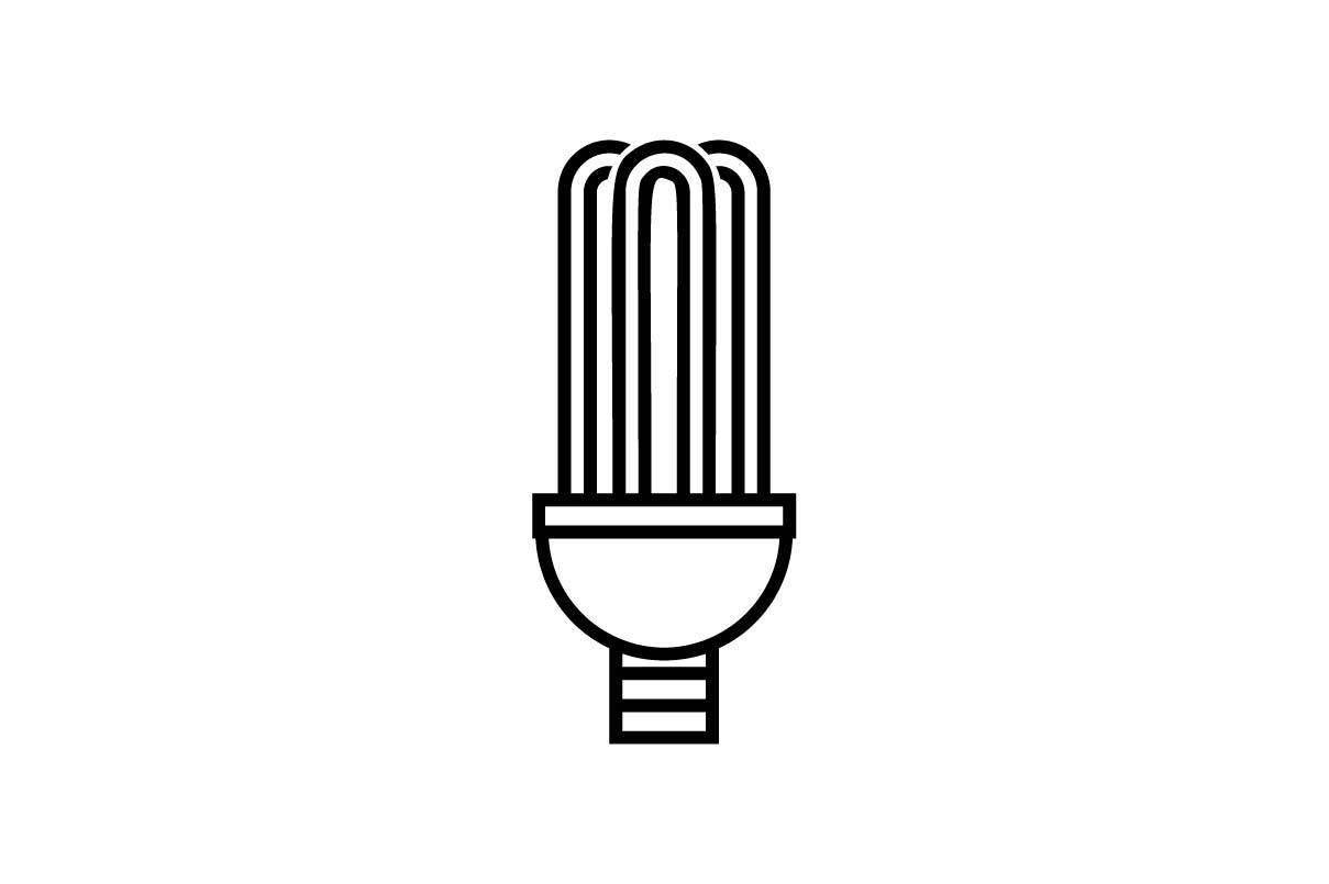 Download Free Electric Bulb Icon Vector Illustration Graphic By Hoeda80 for Cricut Explore, Silhouette and other cutting machines.