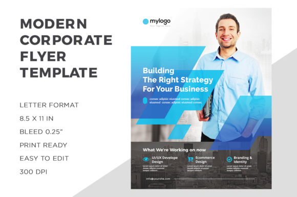 Business Flyer Template Graphic Print Templates By ivanjoys19