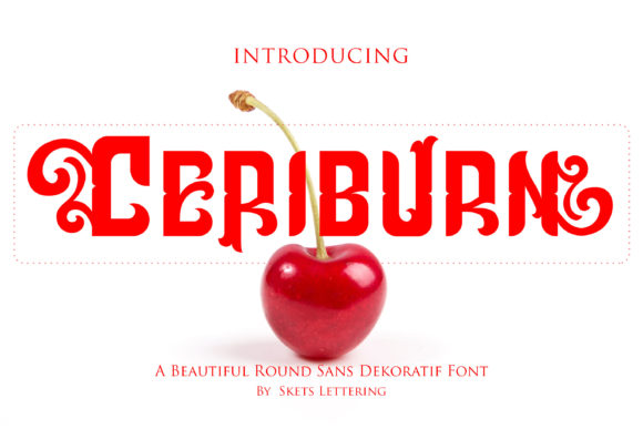 Print on Demand: Ceriburn Decorative Font By Skets Lettering