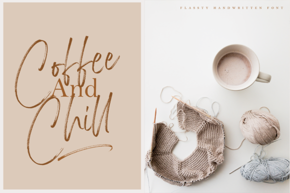Print on Demand: Flassty Script & Handwritten Font By Geranium.co - Image 9