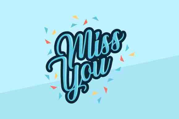 Download Free Miss You Farewell Party Template Graphic By Zaenal Abidin4133 SVG Cut Files