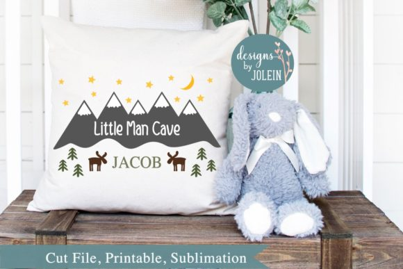 Download Free Little Man Cave Graphic By Designs By Jolein Creative Fabrica for Cricut Explore, Silhouette and other cutting machines.