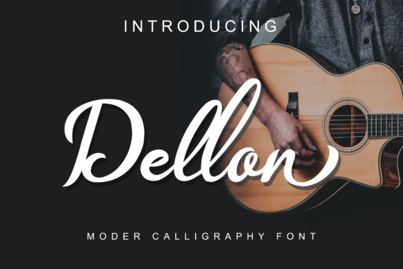Print on Demand: Dellon Script & Handwritten Font By Tonimouse