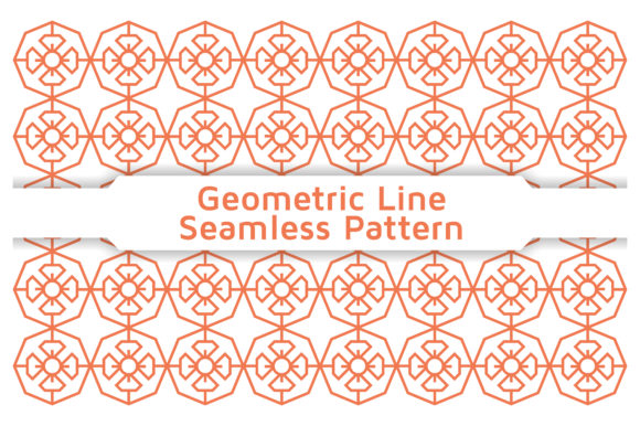 Pattern Geometric Line Graphic Patterns By Acongraphic