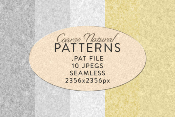 Print on Demand: Seamless Coarse Natural Patterns Graphic Actions & Presets By OA Design - Image 2